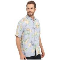 Tommy Bahama Greenwich Garden Short Sleeve トミー バハマ Button Up Shirts MEN メンズ Night Shadow