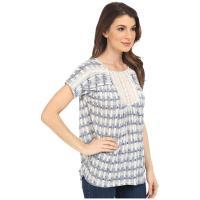 Lucky Brand Crochet Bib Top ラッキーブランド Blouses WOMEN レディース Multi