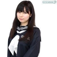 1210L●【送料無料・即納】スクールスカーフ単品 色:白 サイズ:フリー TeensEver セーラースカーフ