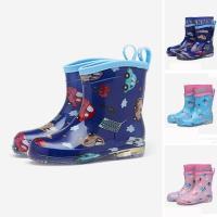 レインシューズ キッズ 子供用 レインブーツ 男の子 女の子 雨靴 防水靴 雨具 おしゃれ 梅雨 雨対策 サイドゴア 可愛い 防滑GYX-AL77