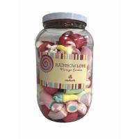 ウォンキャンディーレインボーラブ マシュマロ 730g WonKandy Rainbow Love Marshmallow