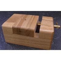 篆刻作成時に、石材を固定する台です 白木印床ねじ式大 サイズ 横85ミリ縦128ミリ高さ50ミリ 彫...