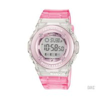 アクティブでキュートな女性のためのカジュアル腕時計 クリアピンク ■仕様 耐衝撃構造 10気圧防水 ...