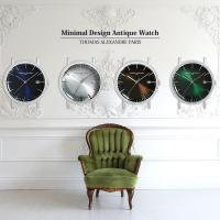 ドラマ「特捜9」 衣装提供 ミニマルウォッチ アンティーク 時計 メンズ レディース クラシック 腕時計 本体のみ