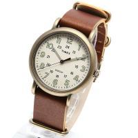 TIMEX タイメックス ウィークエンダー ヴィンテージ アンティークゴールド TW2P85700 ...