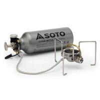 SOTO ムカストーブは大きな生火とともに大量のススが発生するプレヒート(余熱)や使用するたびに行う...