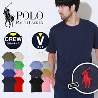 POLO RALPH LAUREN(ポロ・ラルフローレン)らしい、シンプルなデザインのUネック半袖T...