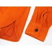 SUGAR CANE[シュガーケーン] ネルシャツ SC27696 無地 SOLID TWILL L/S WORK SHIRT (オレンジ)
