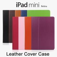 ● 高級感あふれるレザーのiPad mini/iPad mini Retina/iPad mini ...