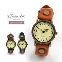腕時計 キャメル ブラック ブラウン 35mm  本革レザーベルト  日本製ムーヴメント レディース メンズ クラシックゆうパケット送料無料