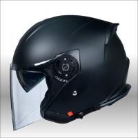ワンタッチインナーバイザー付きジェットヘルメット HAYABUSA 隼 バイク用 かっこいい クレスト ダブルシールド