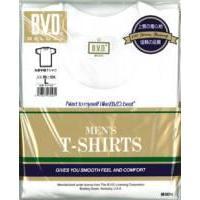 BVDシルケット加工デラックス丸首半袖Tシャツ(S〜L)