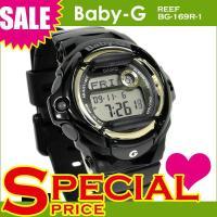 カシオ ベビーG ベビーg Baby-G BG-169R-1 BG-169R-1DR 腕時計 ブラッ...