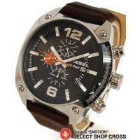 ディーゼル DIESEL diesel メンズ 腕時計 クロノグラフ アナログ レザーベルト DZ4...