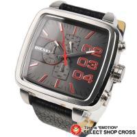 ディーゼル腕時計を新入荷!! 迫力と重量感があるかっこいいモデルです♪!! クロノグラフのデザインが...