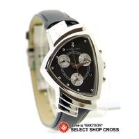 HAMILTON ハミルトン 腕時計 ベンチュラ・クロノ H24412732 ブラック ハミルトンウ...