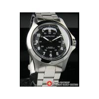 HAMILTON ハミルトン 腕時計 カーキ キング KHAKI KING H64455133 ブラ...