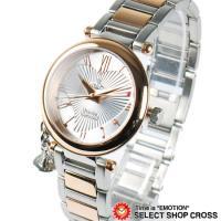 ヴィヴィアン・ウエストウッドより オーブが可愛い、アナログ時計を入荷。 全体のデザインはアダルトな雰...
