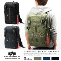 ALPHA MA-1ジャケット デイパック