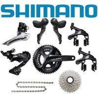 SHIMANO (シマノ) 105 R7000 ブラック コンポセット