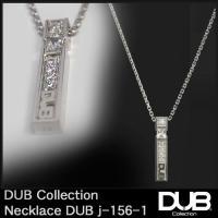DUB シルバー ネックレス j156-1 ホワイト ダブジュエリー メンズ レディース アクセサリ...