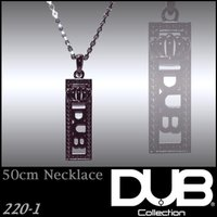 DUB Collection 220_1 ネックレス Dighity Necklace ブラック メ...