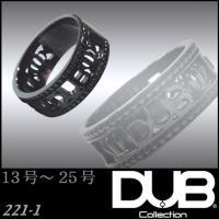 DUB Collection 221_1 Dignity ブラック リング RING ダブジュエリー...