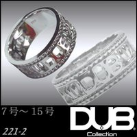 DUB Collection 221-2 Dignity ホワイト リング RING ダブジュエリー...