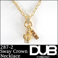 DUB Collection ネックレス Sway Crown Necklace j-287-2 メ...