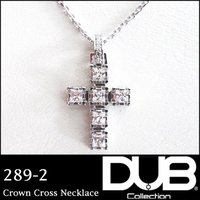 DUB Collection ネックレス Crown Cross Necklace j-289-2 ...