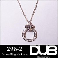 DUB Collection ネックレス Crown ring Necklace クラウン リング ...