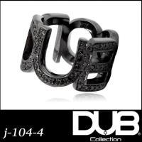 DUB ジュエリー リング 104-4 (BK) シルバー アクセサリー メンズ レディース ダブジ...