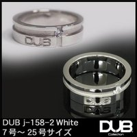 DUB ジュエリー リング 158-2 シルバー ホワイト アクセサリー メンズ レディース ダブジ...