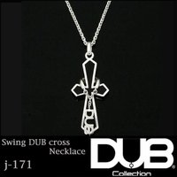 DUB Collection ネックレス Swing DUB Cross Necklace j-17...