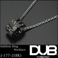 DUB Collection ネックレス Emblem Ring Necklace j-177-2 ...