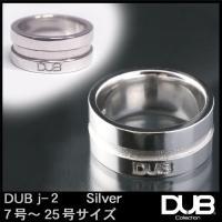 DUB ジュエリー リング 2-1 ロゴ シルバー メンズ レディース ダブジュエリー アクセサリー...