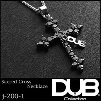 DUB Collection ネックレス Sacred Cross Necklace j-200-1...