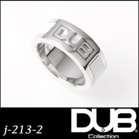 DUB Collection j-213-2 leather work Ring メンズ レディース...
