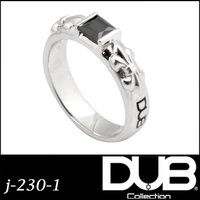 DUB Collection j-230-1(BK) Crest of the Lily Ring ...
