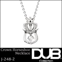 DUB Collection ネックレス Crown Horseshoe Necklace j-24...