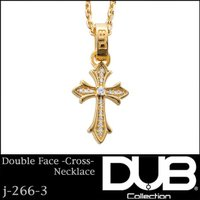DUB Collection ネックレス Double face -Cross- Necklace ...