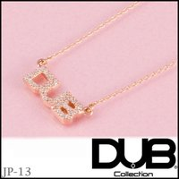DUB Collection Sweet jp-13 ネックレス Tiny logo Necklac...
