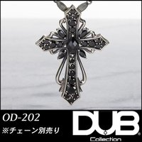 Luxury DUB ネックレス トップ Antique cross pendant OD-202(...