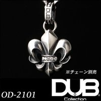 Luxury DUB Collection ネックレス トップ fleur-de-lis Neckl...