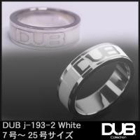 DUB Collection j193-2 ホワイト シルバー リング RING ダブジュエリー シ...