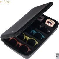 メガネ収納BOX(5本入り)ブラック サングラスケース めがねケース 眼鏡入れ コレクションケース 眼鏡置き おしゃれ 小物入れ 収納 老眼鏡