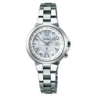 SSQV001 SEIKO LUKIA ソーラー 電波時計 lady's watch 「HAPPY女...