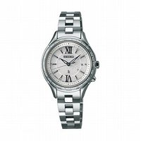 SSVV011 SEIKO LUKIA ソーラー 電波時計 lady's watch 上品な「つやめ...