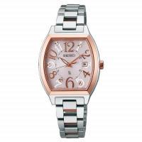SSVW048 SEIKO LUKIA ソーラー 電波時計 lady's watch 「ラッキールキ...