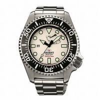 ORIENT 300m飽和潜水用ダイバーズ WV0121EL Men's watchは、ステンレス素...